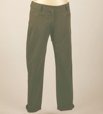 Pantalon Petite Taille Kho Kong Kaki