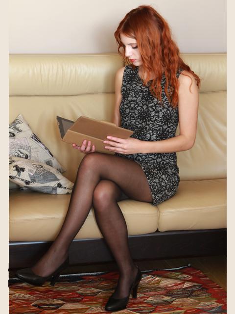 Photo de femme en jupe tres courte